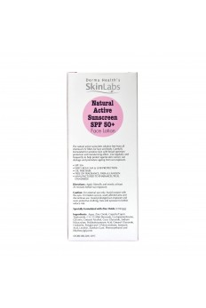 Derma Health's Natural Active Sunscreen SPF50+ Face Lotion 50ml